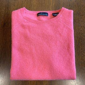 Moda International 100% Cashmere Sweater- Pink- XS